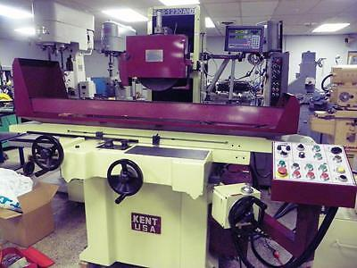 """KENT USA 12"""" x 30"""" SGS-1230AHD 3-Axis Hydraulic Automatic Wet Surface Grinder"""