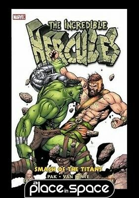 Incredible Hercules Smash Titans - Hardcover
