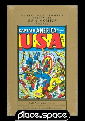 Mmw Golden Age Usa Comics Vol 02 - Hardcover