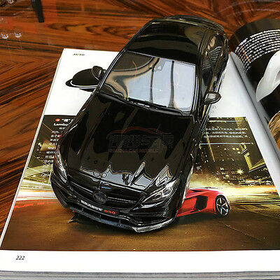 NEW GT Spirit 1/18 Mercedes Benz Brabus 650 Sedan C63 AMG car model black GT132