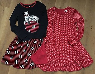 Girls Chloe Dress And Little Marc Jacob Skirt And Top Outfit Age 10