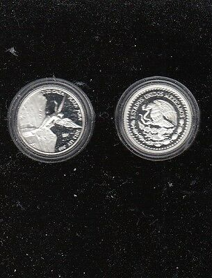 2010 Mexican Silver Libertad Coin 1/20 oz. 999   PROOF  Bullion