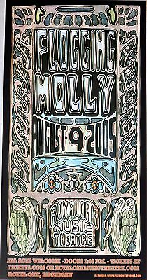 FLOGGING MOLLY 2005 Concert POSTER