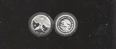 2011 Mexican Silver Libertad Coin 1/20 oz. 999   PROOF  Bullion