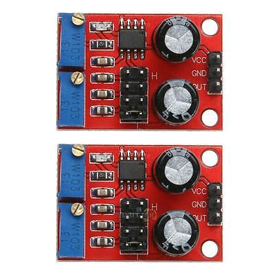 2Pcs NE555 Duty Cycle Adjust Module Square Wave Signal Frequency Pulse Generator