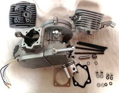 66cc Motorized  GAS ENGINE 80cc topend up end 6mm with bolts