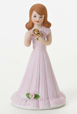 Enesco- Growing Up Girls - Brunette Age 9 Figurine, E9533