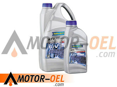 5 (4+1) Liter RAVENOL ATF T-IV Fluid Automatikgetriebeöl Made in Germany