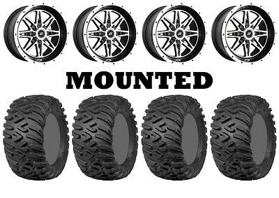Kit 4 ITP TerraCross R/T XD 26x9-14/26x11-14 on Badlands Machined 10mm CAN