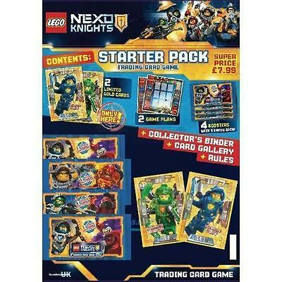 Lego Nexo Knights TCG - Starter Set NEW Trading Card Game