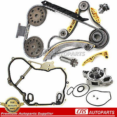 For GM 2.0 2.2 2.4 Timing Chain & Cover gasket Balance Shaft Water Pump L42 L61