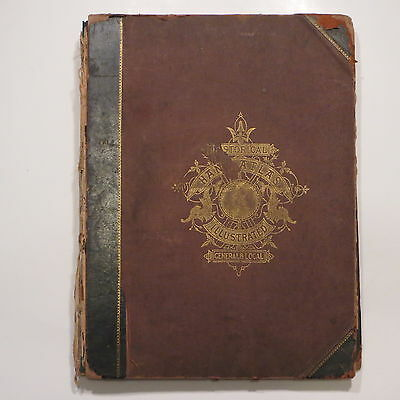 1882 Historical Atlas World State Maps Lucas County Ohio Bible History Hardesty