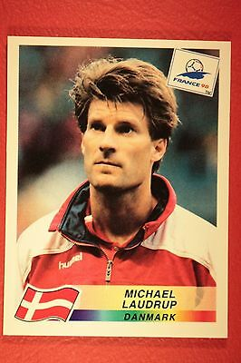 Panini Wc Wm France 98 1998 224 Danmark Laudrup With Black Back Mint!!