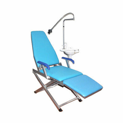Portable Folding Dental Chair Unit with Water supply system Cuspidor Tray US