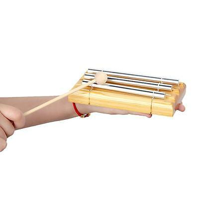 Energy Chime Three Tone with Mallet Exquisite Kid Children Musical Toy New B1E4