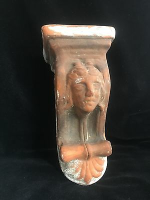 Antique Terracotta Corbel Architectural UK Sconce