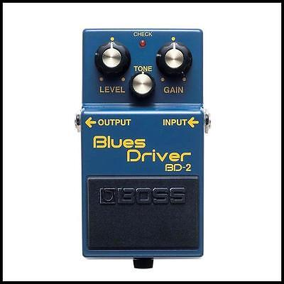 Boss BD-2 Blues Driver Guitar Effects Pedal New