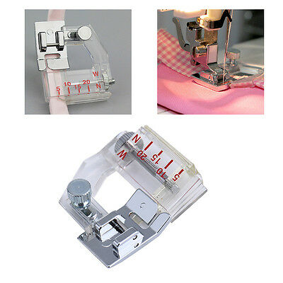 1pc Multi-function Ajustable Sewing Machine Hemming Presser Foot Feet Tool NEW
