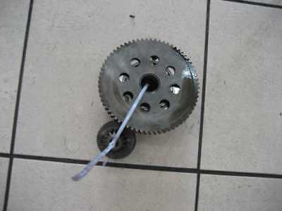 2. Suzuki Burgman on 400 WVAU Rotor Starter Clutch Alternator Pole Wheel