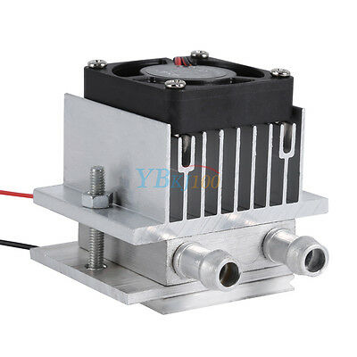 DIY Thermoelectric Peltier Refrigeration Cooling System Radiator Fan TEC1-12706