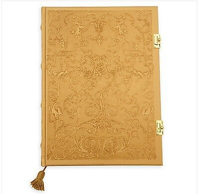Disney Beauty And The Beast Live Action Film Hardcover Latching Journal NWT GIFT