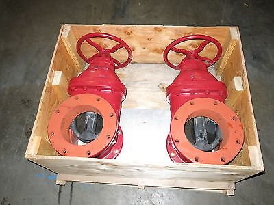 """2 Kennedy KS-FW 8"""" Gate Valves 200 PSI Rated New"""