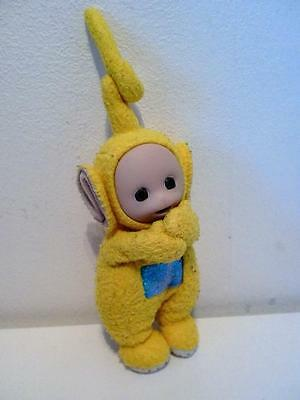 BBC Golden Bear Teletubbies Big Hug Hugger Clip On La La Plush Soft Toy 1990s