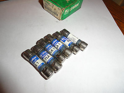 6  Littlefuse  FLA-1 1A 1A Fuses New partial  Dirty box