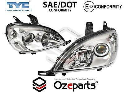 Set Pair LH+RH Left+Right Head Light Lamp For Mercedes Benz M Class W163 01~05