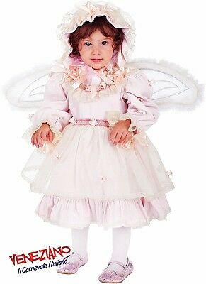 Italian Made Girls Frilly Fairy Pageant Carnival Fancy Dress Costume Outfit 0-3y