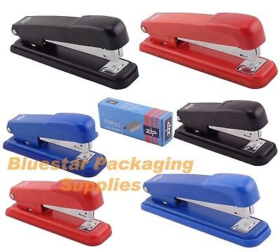 Full Or Half Strip Quality Metal Stapler Choice of Colour and Staples