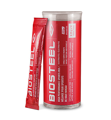 BioSteel High Performance Sports Drink Mix (Tube of 14 6.25 Gram Packets)