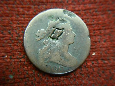 1800 U.s. Large Cent - Very Early U.s. Copper Coinage - Lots Of Mileage- History