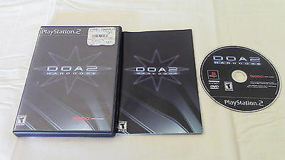 Dead or Alive 2 DOA2 Hardcore Sony Playstation 2 PS2 Video Game Complete