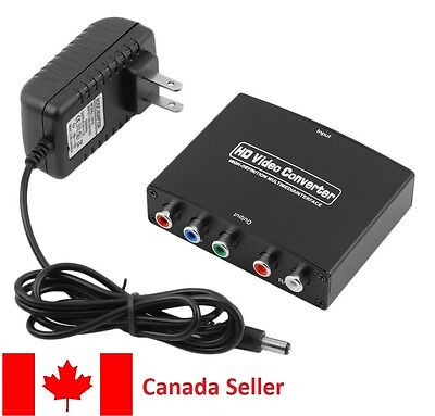 HDTV HDMI to RGB Component YPbPr +R/L Converter 1080P Adapter Converter Hypp