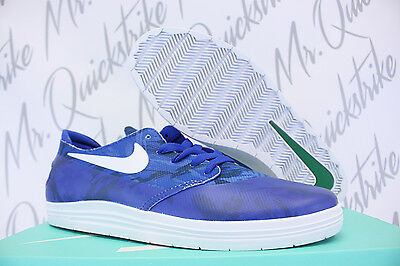 free shipping 8e9c7 3afe1 Nike Lunar Oneshot Sb Wc Sz 8 Game Royal Blue White One Shot 645019 401