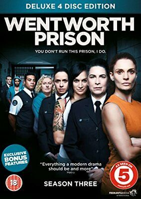 Wentworth Prison - Season 3  with Danielle Cormack New (DVD  2015)