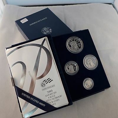 2005-W American Platinum Eagle Four-Coin Proof Set
