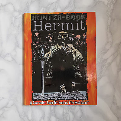 Hunter-Book: Hermit, character book, Hunter: The Reckoning, White Wolf 8112