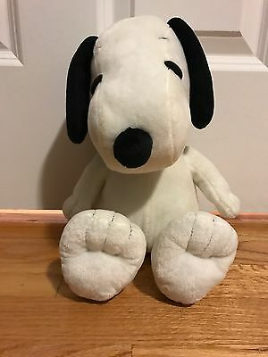 "13"" Snoopy Peanuts Plush Toy Collectible Vintage"