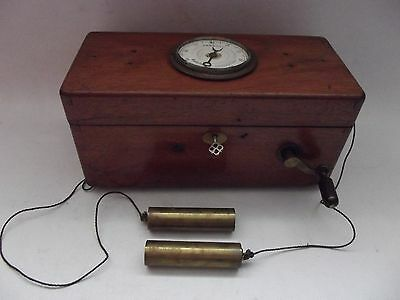 Victorian Improved Magneto Shock Therapy Machine