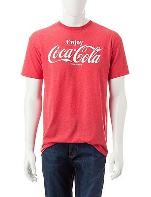 Enjoy Coca-Cola Vintage Screen Print Tagless T-Shirt Adult / Mens Size M Medium