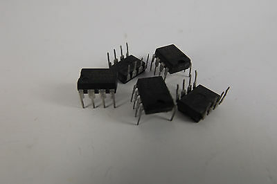 TS555CN 555 DIP8 ST IC, TIMER LOW POWER CMOS NEW lot of 5