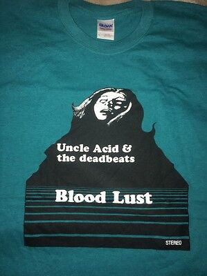 uncle acid and the deadbeats shirt Blood lust Acid Coven Rare Oop stoner metal