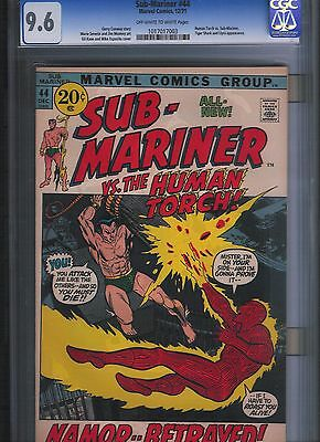 Sub-Mariner # 44 CGC 9.6 Off White to White Pages. UnRestored