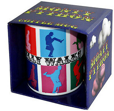 Warhol Monty Python Ministry Silly Walks Walk Colourful Boxed Tea / Coffee Mug