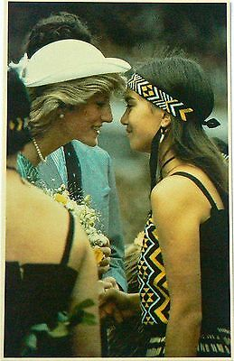 Postcard.royalty.charles & Diana In Australia & Nz.10 Cards.sovereign Srs 3 1983
