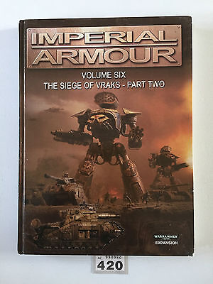 Warhammer 40,000 Forge World Imperial Armour Volume Five The Siege Of Vraks Two