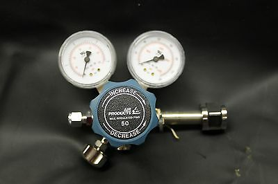 Carbon Dioxide Regulator 3000Psi Inlet 50Psi Outlet Cga320 Co2  Free Shipping