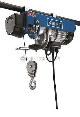 Electric Winch Hoist Crane Scaffold Cable Lifting 200/400Kg Scheppach Hrs400